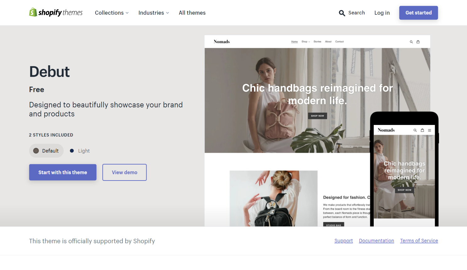 one product shopify theme