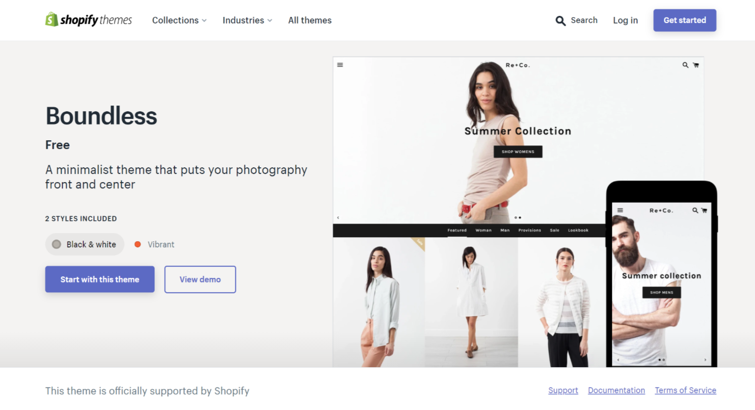 best one product ecommerce theme