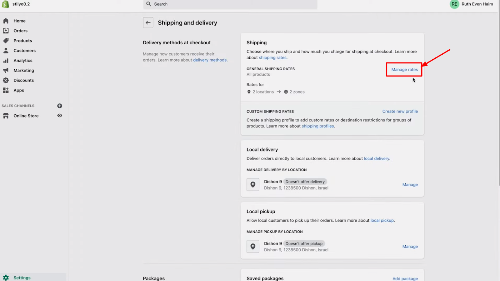 how to build a shopify dropshipping store