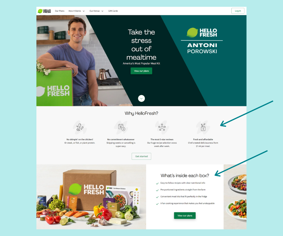 Overcome objections on your shopify landing page