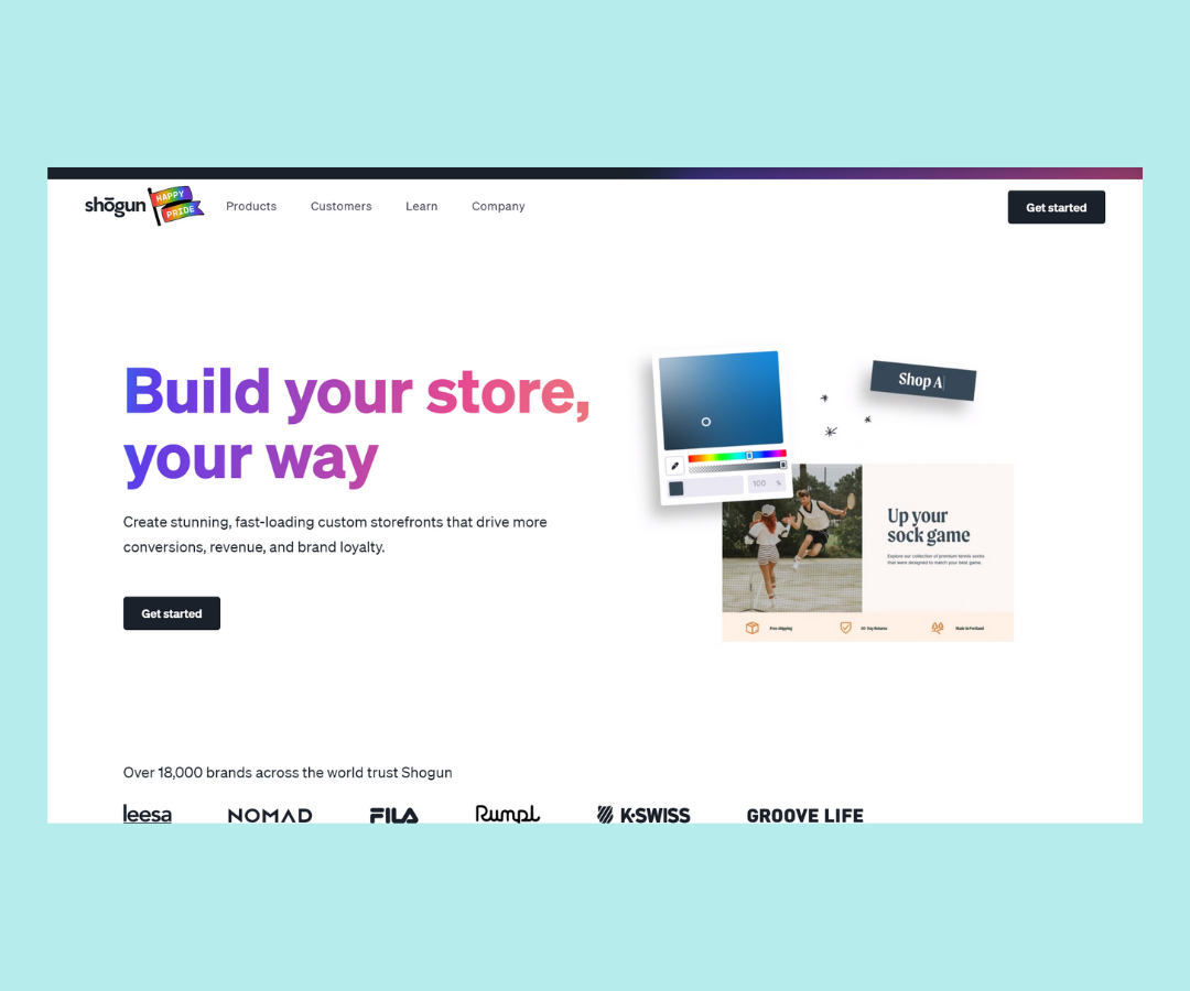 The Best landing page Apps for Shopify