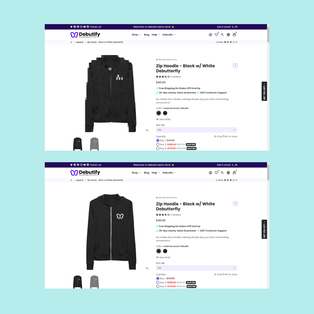 Shopify design mistakes